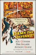 "Movie Posters:Adventure, Damn the Defiant! (Columbia, 1962). One Sheet (27"" X 41"").Adventure.. ..."