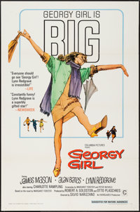 """Georgy Girl (Columbia, 1966). One Sheets (2) (27"""" X 41"""") Regular & Review Style. Comedy. ... (Total: 2 Ite..."""