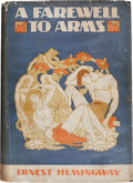 Books:Literature 1900-up, Ernest Hemingway. A Farewell to Arms. New York: CharlesScribner's Sons, 1929. First trade edition. ...