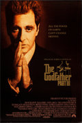 "Movie Posters:Crime, The Godfather Part III (Paramount, 1990). One Sheets (2) (27"" X 40"") SS. Crime.. ... (Total: 2 Items)"