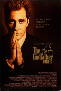 """The Godfather Part III (Paramount, 1990). One Sheets (2) (27"""" X 40"""") SS. Crime. ... (Total: 2 Items)"""