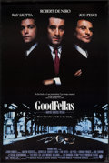 "Movie Posters:Crime, Goodfellas (Warner Brothers, 1990). One Sheet (27"" X 40.5"").Crime.. ..."