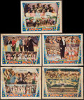 """Movie Posters:Musical, Show of Shows (Warner Brothers, 1929). Lobby Cards (5) (11"""" X 14""""). Musical.. ... (Total: 5 Items)"""