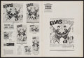 """Movie Posters:Elvis Presley, Double Trouble & Other Lot (MGM, 1967). Uncut Pressbook (12Pages, 12"""" X 17"""") & Pressbook (16 Pages, 12"""" X 15""""). ElvisPresl... (Total: 2 Items)"""