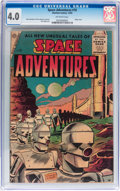 Golden Age (1938-1955):Science Fiction, Space Adventures #19 (Charlton, 1955) CGC VG 4.0 Off-whitepages....