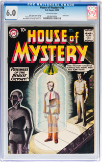 House of Mystery #93 (DC, 1959) CGC FN 6.0 Off-white pages