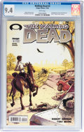 Modern Age (1980-Present):Horror, Walking Dead #2 (Image, 2003) CGC NM 9.4 White pages....