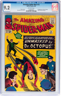 The Amazing Spider-Man #12 (Marvel, 1964) CGC NM- 9.2 Off-white pages