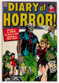 Golden Age (1938-1955):Horror, Diary of Horror #1 (Avon, 1952) Condition: VG....