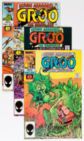 Modern Age (1980-Present):Humor, Groo the Wanderer Group (Marvel, 1985-91) Condition: Average NM....(Total: 47 Comic Books)