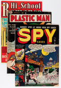 Golden Age (1938-1955):Miscellaneous, Golden Age Miscellaneous Comics Group (Various Publishers, 1940s-50s) Condition: Average VG.... (Total: 15 Comic Books)