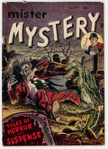 Golden Age (1938-1955):Horror, Mister Mystery #1 (Aragon, 1951) Condition: Incomplete....