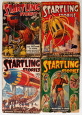 Pulps:Science Fiction, Startling Stories Group (Standard, 1939-45) Condition: AverageGD-.... (Total: 12 Items)