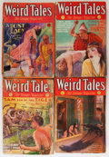 Pulps:Horror, Weird Tales Group (Popular Fiction, 1931-44) Condition: AverageFR.... (Total: 16 Items)