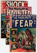 Golden Age (1938-1955):Horror, Golden Age Horror Group (Various Publishers, 1950s) Condition:Average GD.... (Total: 8 Comic Books)