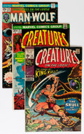 Bronze Age (1970-1979):Horror, Creatures on the Loose Group (Marvel, 1971-75) Condition: AverageVG.... (Total: 29 Comic Books)