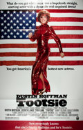 "Miscellaneous:Movie Posters, [Movie Posters]. Tootsie (Columbia 1982). Original one sheetmovie poster. 27"" x 41"". Starring Dustin Hoffman. F..."