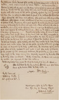 Autographs:Military Figures, William Clark Proclamation, a Period Fair Copy in the Hand of Frederick Bates....
