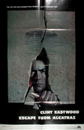 """Miscellaneous:Movie Posters, [Movie Posters]. Escape from Alcatraz (Paramount 1979).Original one sheet movie poster. 27"""" x 41"""". Starring Cli..."""