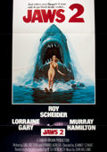 "Miscellaneous:Movie Posters, [Movie Posters]. Jaws 2 (Universal, 1978). Original onesheet movie poster. 27"" x 41"". Starring Roy Schneider. F..."