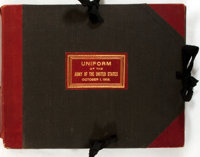 [Military Uniform]. The Uniform of the Army of the United States. 143 color plates d