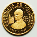 Colombia, Colombia: Republic gold Proof 200 Pesos 1968,...