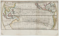 Books:Maps & Atlases, Herman Moll. A View of the General & Coasting Trade-Winds inthe great South Ocean. [N.p., circa 1720-1740]. ...