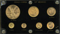 Mexico, Mexico: 20th Century gold Type Set 1901-59,... (Total: 7 coins)