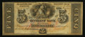 Obsoletes By State:Louisiana, New Orleans, LA- The Citizens' Bank of Louisiana $5 18__. ...