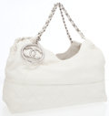 Luxury Accessories:Accessories, Chanel Cream Calfskin Baby Coco Cabas Hobo Bag. ...