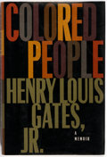 Books:Biography & Memoir, Henry Louis Gates, Jr. Colored People. New York: Knopf,1994. First edition. Octavo. 216 pages. Publisher's binding ...
