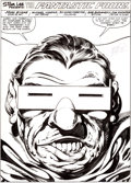 Original Comic Art:Splash Pages, John Byrne Fantastic Four #264 Mole Man Splash Page 1Original Art (Marvel, 1984)....