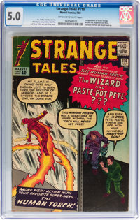 Strange Tales #110 (Marvel, 1963) CGC VG/FN 5.0 Off-white to white pages