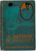 Books:Horror & Supernatural, Rev. Robt. Hugh Benson. A Mirror of Shalott. Benzinger Brothers, 1907. First edition. Publisher's printed cloth. No ...