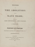 Books:World History, [Anti-Slavery Literature]. James Montgomery, James Grahame, and E.Benger. Poems on the Abolition of the Slave Trade...
