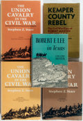 Books:Americana & American History, [Civil War]. Group of Five Books about the Civil War, including athree-volume work by Stephen Z. Starr, The Union Cav...(Total: 5 Items)