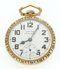 Timepieces:Pocket (post 1900), Hamilton Railway Special 21 Jewel 992 B Pocket Watch. ...