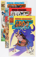 Modern Age (1980-Present):Humor, Groo the Wanderer Group (Various, 1982-86) Condition: AverageNM-.... (Total: 18 )