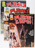 Magazines:Science-Fiction, Planet of the Apes Group (Marvel, 1976-77) Condition: AverageNM-.... (Total: 5 Comic Books)