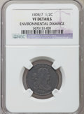1808/7 1/2 C -- Environmental Damage -- NGC Details. VF Details. NGC Census: (2/16). PCGS Population (11/31). Mintage: 4...