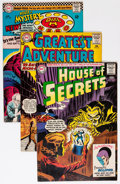 Silver Age (1956-1969):Horror, House of Secrets/House of Mystery Group (DC, 1960s) Condition:Average FN.... (Total: 14 Comic Books)