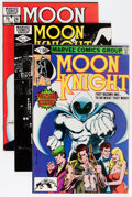 Modern Age (1980-Present):Superhero, Moon Knight #1-37 Group (Marvel, 1980-84) Condition: AverageVF/NM.... (Total: 78 Comic Books)