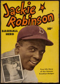 Baseball Collectibles:Publications, 1950 Jackie Robinson Comic Book....