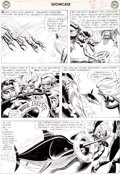 Original Comic Art:Panel Pages, Russ Heath Showcase #29 Sea Devils Page 22 Original Art (DC,1960)....