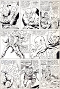 Original Comic Art:Panel Pages, Dick Ayers and Frank Giacoia Sgt. Fury #20 Page 19 OriginalArt (Marvel, 1965). ...