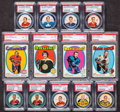 Hockey Cards:Lots, 1961 - 1971 Shirriff/Salada and Topps Hockey Coins/Cards PSA GradedCollection (13) Mostly Stars and HoFers. ...