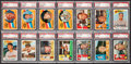 Baseball Cards:Lots, 1960 Topps Baseball PSA NM-MT 8 Collection (14). ...