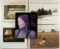 Books:Art & Architecture, Group of Five Books Relating to Andrew Wyeth. Various publishers, late twentieth century. Various editions. Quarto or larger... (Total: 5 Items)