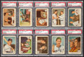 Baseball Cards:Sets, 1959 Fleer Ted Williams Near Set (79/80) With #68 Ted Signs Card. ...