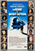 "Movie Posters:Mystery, Murder on the Orient Express (EMI, 1974). British One Sheet (27"" X39.75""). Mystery.. ..."